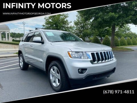 2012 Jeep Grand Cherokee for sale at INFINITY MOTORS in Gainesville GA