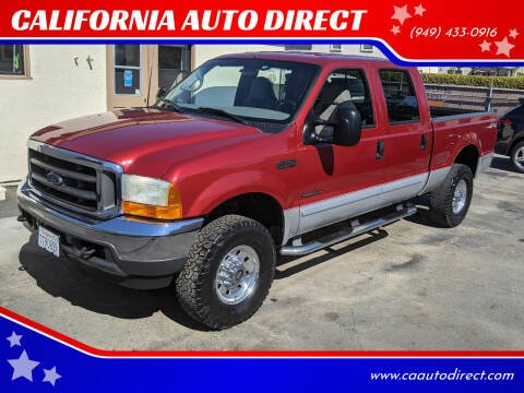 2001 Ford F-350 Super Duty for sale at CALIFORNIA AUTO DIRECT in Costa Mesa CA