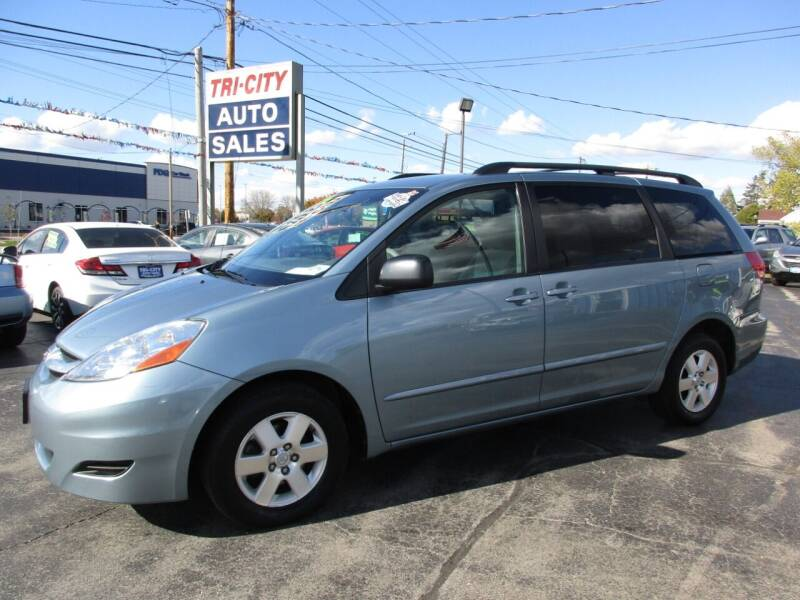 2009 Toyota Sienna for sale at TRI CITY AUTO SALES LLC in Menasha WI
