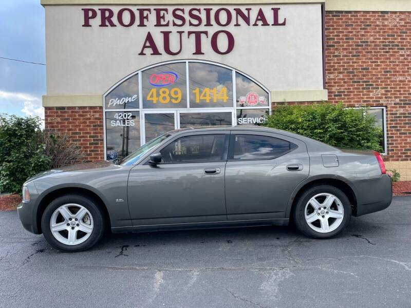 2009 Dodge Charger for sale at Professional Auto Sales & Service in Fort Wayne IN