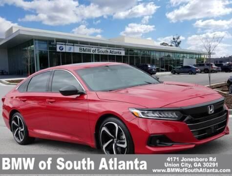 2021 Honda Accord for sale at Carol Benner @ BMW of South Atlanta in Union City GA