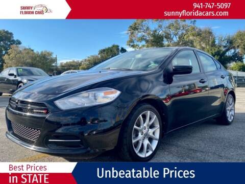 2013 Dodge Dart for sale at Sunny Florida Cars in Bradenton FL