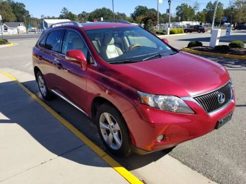 2011 Lexus RX 350 for sale at RVA Automotive Group in North Chesterfield VA