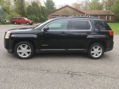 2011 GMC Terrain for sale at Lou Rivers Used Cars in Palmer MA