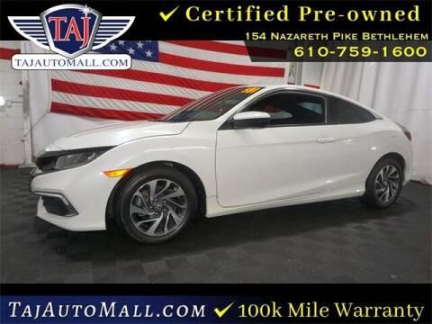 2020 Honda Civic for sale at Taj Auto Mall in Bethlehem PA