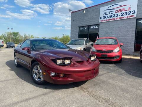 2002 Pontiac Firebird for sale at Auto Deals in Roselle IL