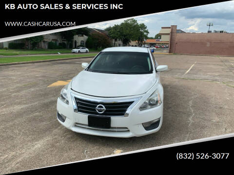 2013 Nissan Altima for sale at KB AUTO SALES & SERVICES INC in Houston TX