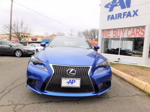 2016 Lexus IS 300 for sale at AP Fairfax in Fairfax VA