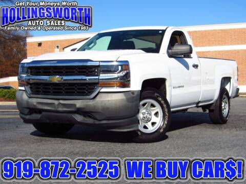 2016 Chevrolet Silverado 1500 for sale at Hollingsworth Auto Sales in Raleigh NC