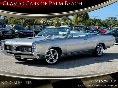 1967 Pontiac Le Mans for sale at Classic Cars of Palm Beach in Jupiter FL