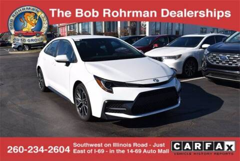 2020 Toyota Corolla for sale at BOB ROHRMAN FORT WAYNE TOYOTA in Fort Wayne IN