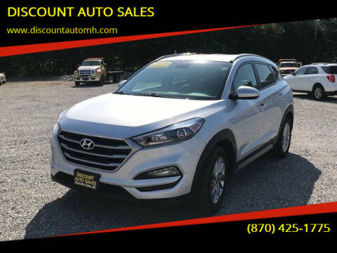 2018 Hyundai Tucson for sale at DISCOUNT AUTO SALES in Mountain Home AR