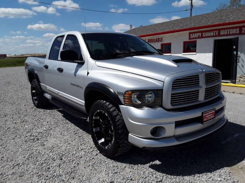 2004 Dodge Ram Pickup 1500 for sale at Sarpy County Motors in Springfield NE
