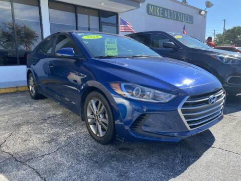 2018 Hyundai Elantra for sale at Mike Auto Sales in West Palm Beach FL