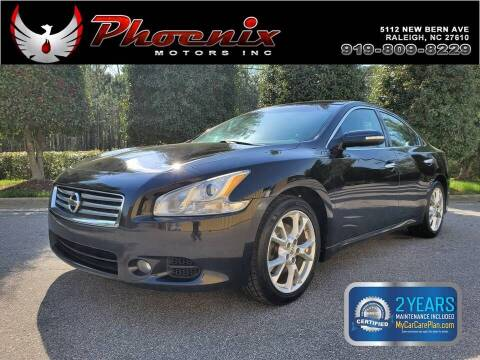 2014 Nissan Maxima for sale at Phoenix Motors Inc in Raleigh NC
