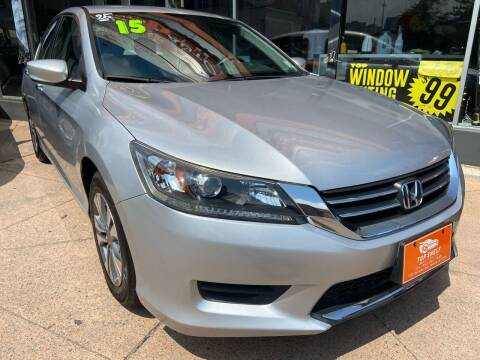 2015 Honda Accord for sale at TOP SHELF AUTOMOTIVE in Newark NJ