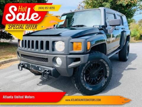 2008 HUMMER H3 for sale at Atlanta United Motors in Buford GA