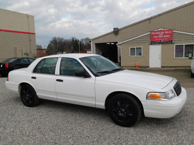2009 Ford Crown Victoria for sale at Macrocar Sales Inc in Akron OH