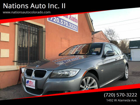 2011 BMW 3 Series for sale at Nations Auto Inc. II in Denver CO