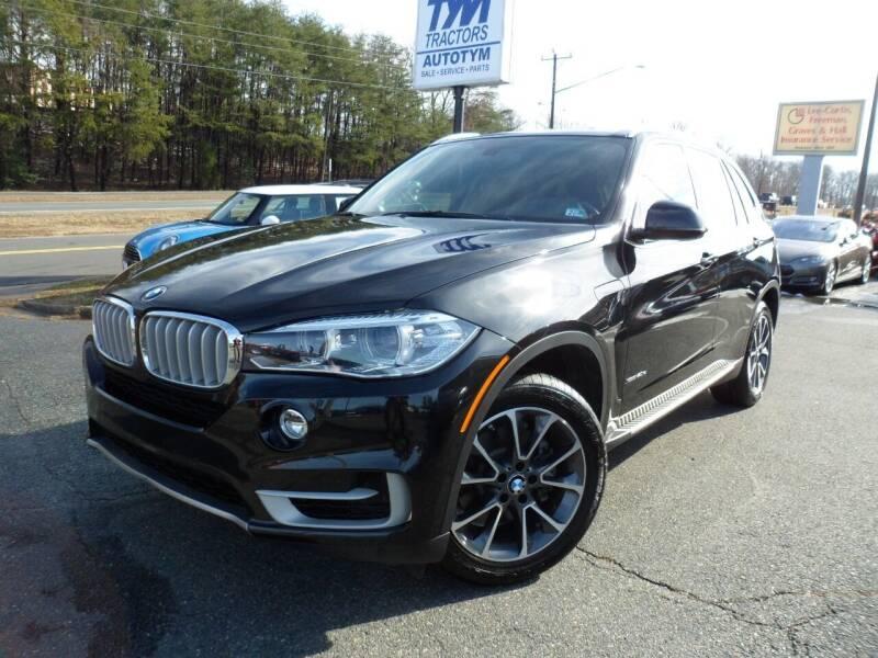 2016 BMW X5 for sale at AUTOTYM INC in Fredericksburg VA