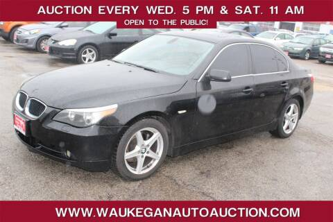 2005 BMW 5 Series for sale at Waukegan Auto Auction in Waukegan IL