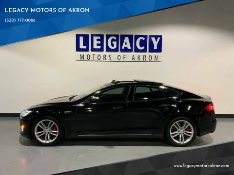 2014 Tesla Model S for sale at LEGACY MOTORS OF AKRON in Akron OH