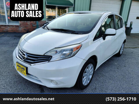 2014 Nissan Versa Note for sale at ASHLAND AUTO SALES in Columbia MO