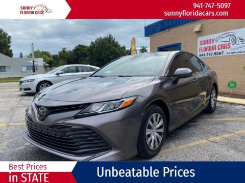 2018 Toyota Camry for sale at Sunny Florida Cars in Bradenton FL