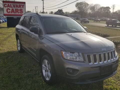 2011 Jeep Compass for sale at Calvary Cars & Service Inc. in Norfolk VA