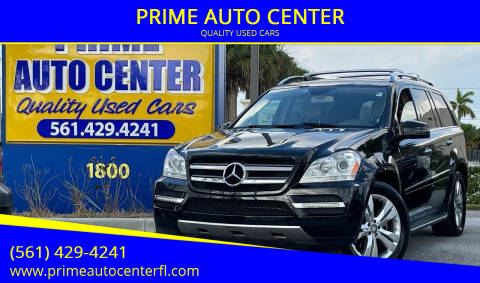 2011 Mercedes-Benz GL-Class for sale at PRIME AUTO CENTER in Palm Springs FL