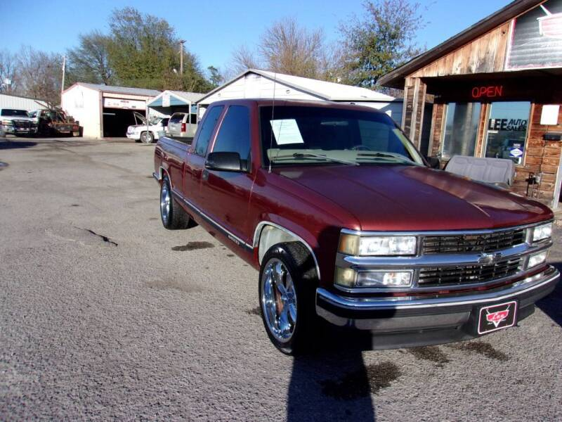 1998 Chevrolet C/K 1500 Series for sale at LEE AUTO SALES in McAlester OK