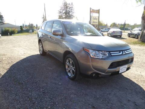 2014 Mitsubishi Outlander for sale at VALLEY MOTORS in Kalispell MT