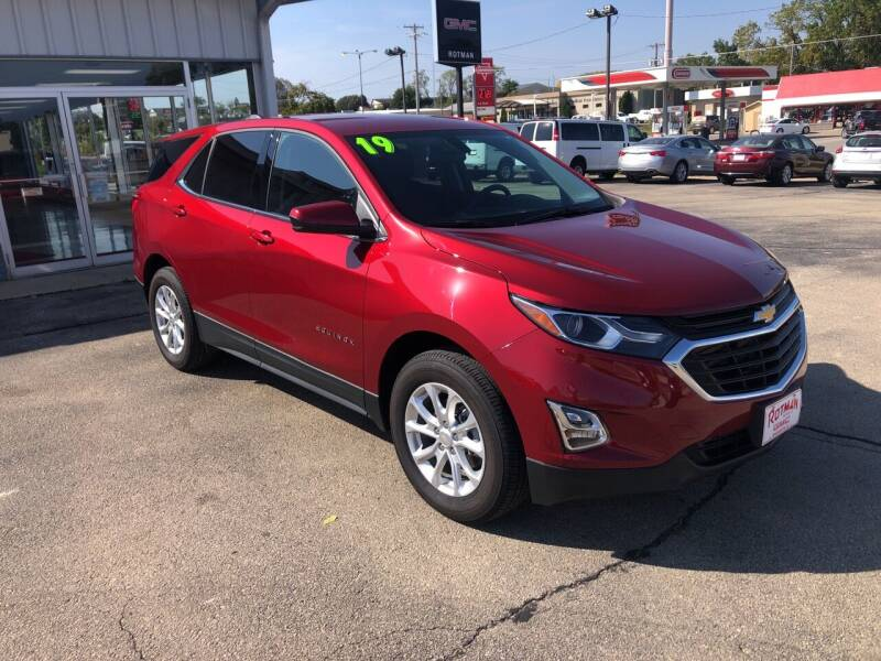 2019 Chevrolet Equinox for sale at ROTMAN MOTOR CO in Maquoketa IA