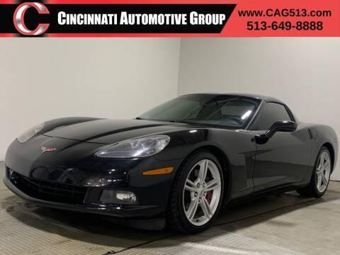 2008 Chevrolet Corvette for sale at Cincinnati Automotive Group in Lebanon OH