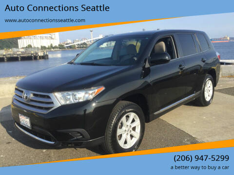 2013 Toyota Highlander for sale at Auto Connections Seattle in Seattle WA