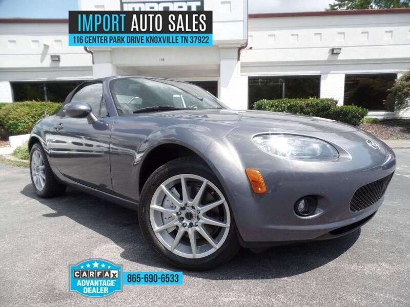 2006 Mazda MX-5 Miata for sale at IMPORT AUTO SALES in Knoxville TN