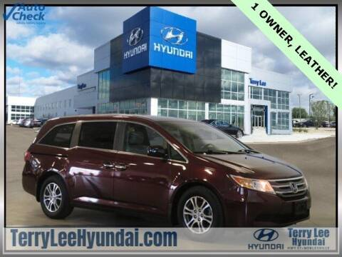 2012 Honda Odyssey for sale at Terry Lee Hyundai in Noblesville IN