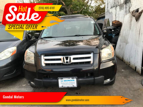 2006 Honda Pilot for sale at Gondal Motors in West Hempstead NY