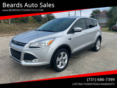 2016 Ford Escape for sale at Beards Auto Sales in Milan TN