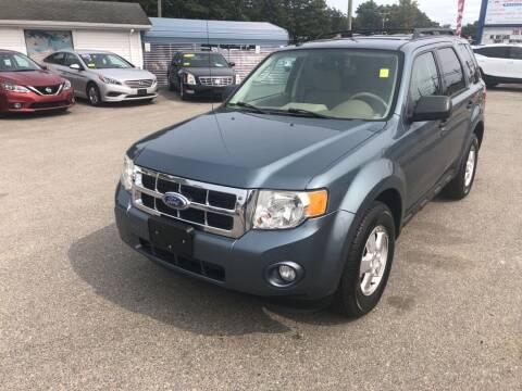2011 Ford Escape for sale at U FIRST AUTO SALES LLC in East Wareham MA