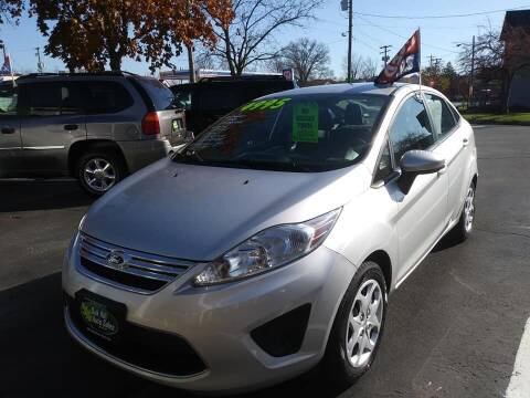 2012 Ford Fiesta for sale at Oak Hill Auto Sales of Wooster, LLC in Wooster OH
