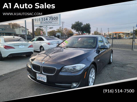 2012 BMW 5 Series for sale at A1 Auto Sales in Sacramento CA