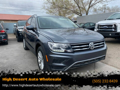 2018 Volkswagen Tiguan for sale at High Desert Auto Wholesale in Albuquerque NM