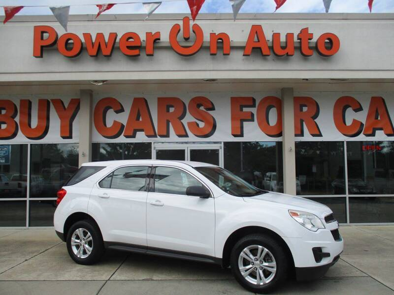 2014 Chevrolet Equinox for sale at Power On Auto LLC in Monroe NC
