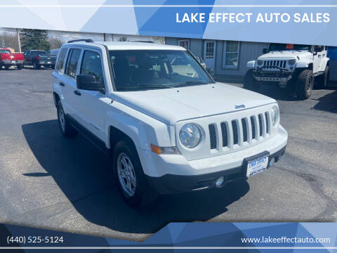 2011 Jeep Patriot for sale at Lake Effect Auto Sales in Chardon OH