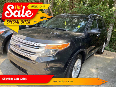 2014 Ford Explorer for sale at Cherokee Auto Sales in Acworth GA