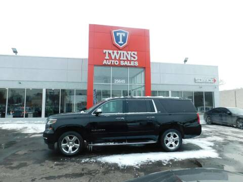 2016 Chevrolet Suburban for sale at Twins Auto Sales Inc Redford 1 in Redford MI