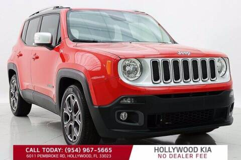 2016 Jeep Renegade for sale at JumboAutoGroup.com in Hollywood FL