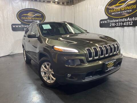 2015 Jeep Cherokee for sale at TRADEWINDS MOTOR CENTER LLC in Cleveland OH