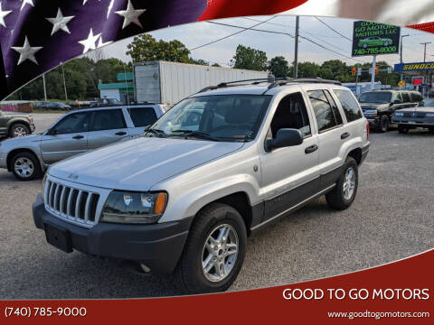2004 Jeep Grand Cherokee for sale at Good To Go Motors in Lancaster OH